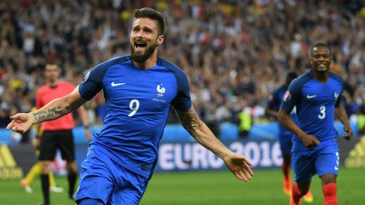 Pierwszy gol Euro 2016! Giroud trafia do siatki