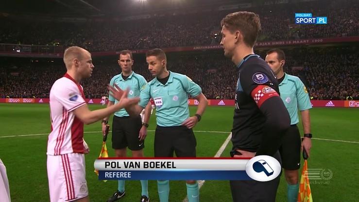 Ajax Amsterdam - PSV Eindhoven 1:1. Skrót meczu