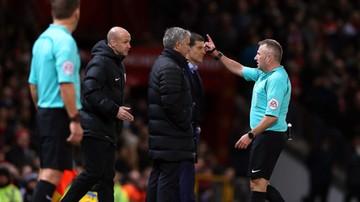 2016-11-27 Mourinho na trybunach, Manchester United znowu stracił punkty