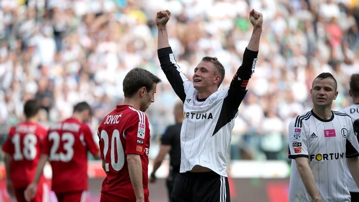 Gol Rzeźniczaka i Legia wygrywa z Wisłą