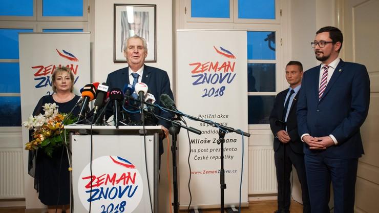 Wybory prezydenckie w Czechach. Pierwsza tura bez wyraźnego lidera