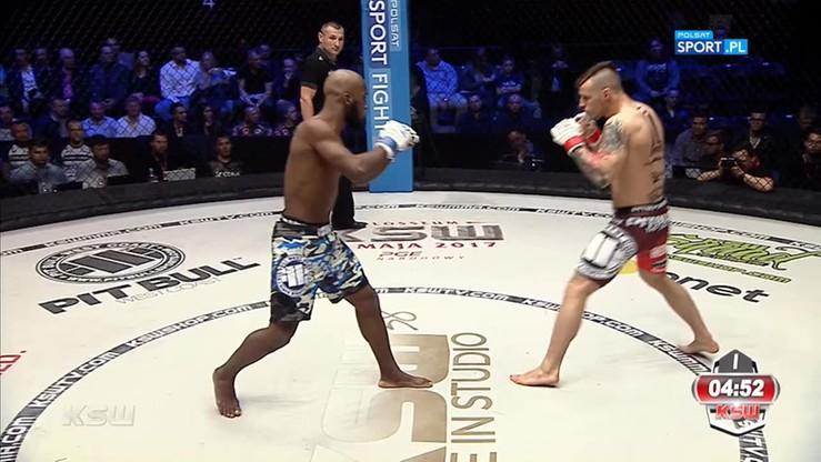 Roman Szymański - Denilson Neves de Oliveira. Skrót walki