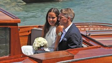 2016-07-12 Ivanovic i Schweinsteiger wzięli ślub w Wenecji (ZDJĘCIA)