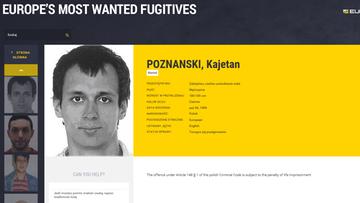 10-02-2016 07:55 FBI pomaga w poszukiwaniach Kajetana Poznańskiego. Jest też czerwona nota Interpolu