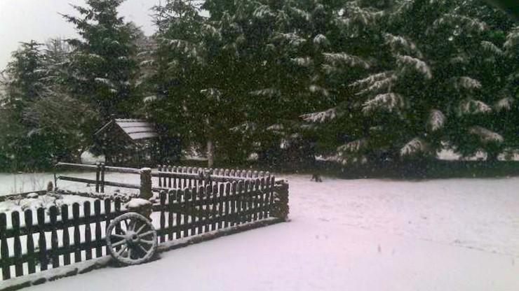 2016-04-01 Śnieżny prima aprilis w Górach Izerskich