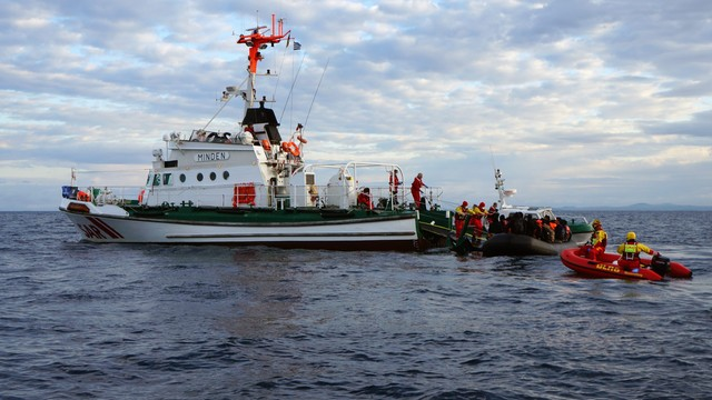 Grecja: słabnie napływ migrantów z Turcji