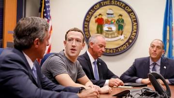 """28-09-2017 05:24 Mark Zuckerberg odpowiada na zarzuty prezydenta USA, że """"Facebook jest anty-Trumpowski"""""""