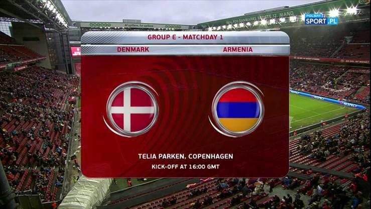 2016-09-04 Dania - Armenia 1:0. Skrót meczu