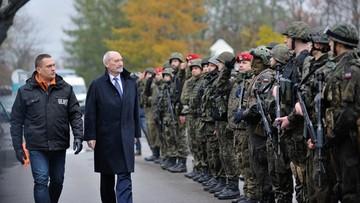 06-11-2016 13:33 Macierewicz chce, by do szkół wróciło przysposobienie wojskowe
