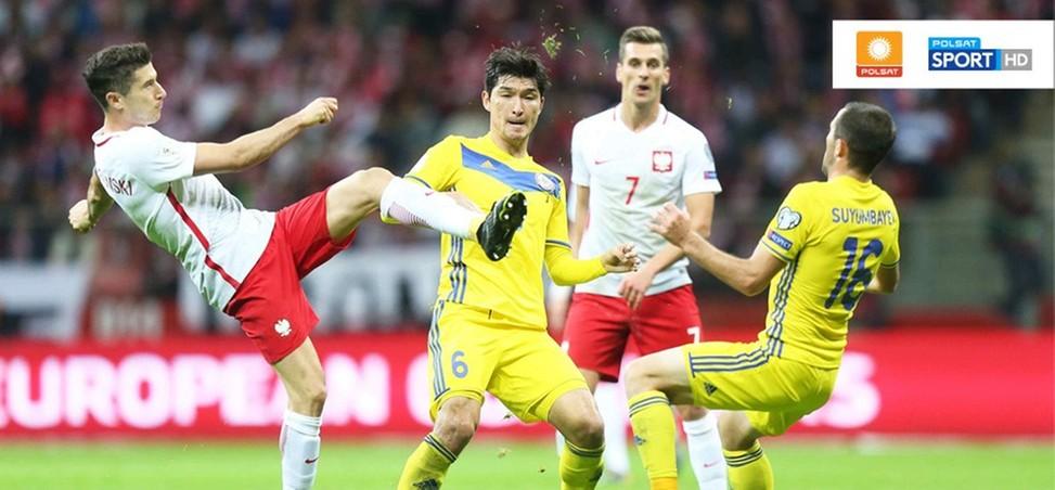 Ponad 7 milionów widzów oglądało mecz Polska - Kazachstan w Polsacie i Polsacie Sport