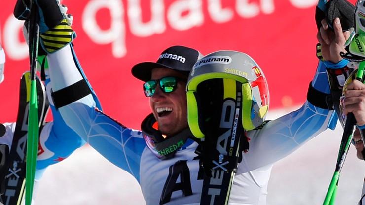 Ligety najlepszy w slalomie gigancie w Beaver Creek