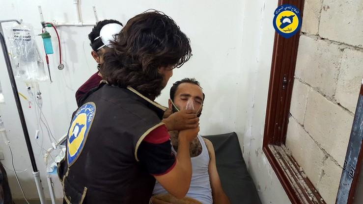 Chlor na syryjskich ulicach. Amerykanie badają kto użył toksycznego gazu