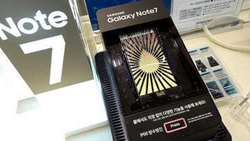 2016-10-10 Samsung zawiesił tymczasowo produkcję telefonu Galaxy Note 7