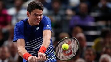 2016-11-05 Raonic uzupełnił grono półfinalistów w Paryżu