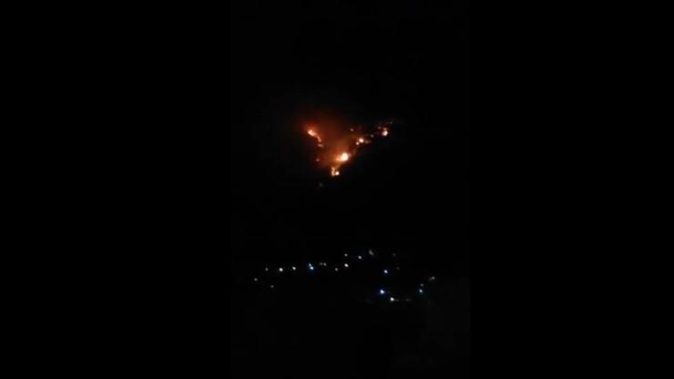 Czarnogóra: Polak zgubił się w lesie i rozpalił ognisko. Spowodował duży pożar