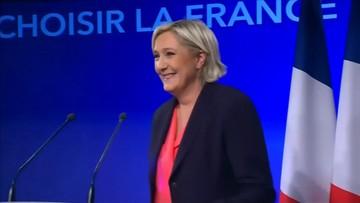 15-05-2017 16:45 Marine Le Pen ponownie szefową Frontu Narodowego
