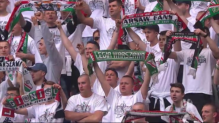 Sen o Warszawie po zdobyciu Pucharu Polski przez Legię!