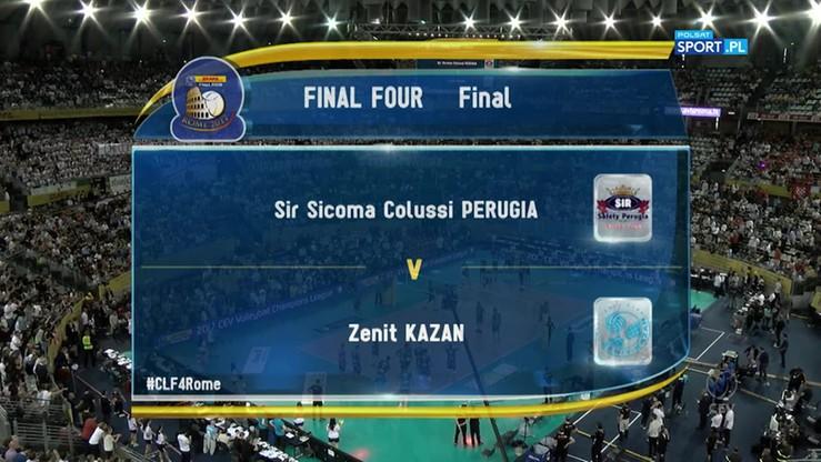Sir Sicoma Colussi Perugia - Zenit Kazań 0:3. Skrót finału Ligi Mistrzów