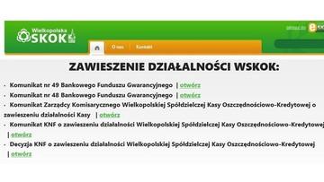 01-03-2017 20:49 Sąd ogłosił upadłość Wielkopolskiej SKOK