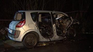 Wypadek pod Kwidzynem. Nie wiadomo, kto kierował BMW. Przyznał się 22-latek, ale policja ma wątpliwości