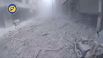 08-05-2017 12:13 Rozpoczęto ewakuację rebeliantów spod Damaszku
