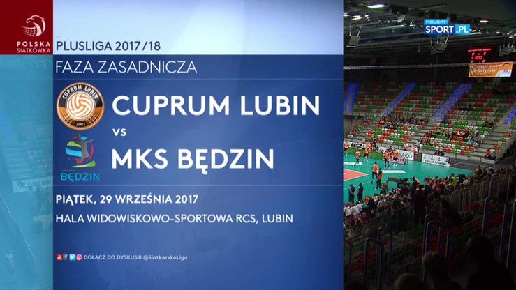 Cuprum Lubin - MKS Będzin 3:0. Skrót meczu
