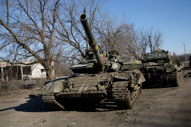Ukraina: separatyści zapowiadają wycofanie ciężkiego sprzętu