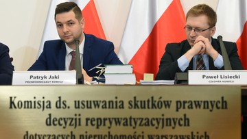 """Jaki: prezydent Warszawy była """"regularnie"""" informowana ws. reprywatyzacji"""