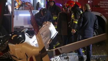 22-11-2016 15:56 Rozbił się samolot akrobacyjny pod Częstochową. Dwie osoby nie żyją