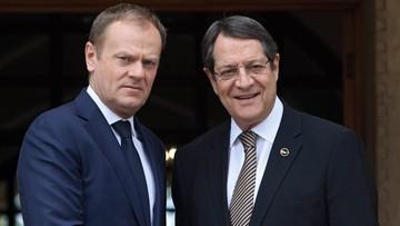 15-03-2016 16:36 Plan ws. migracji zagrożony. Cypr blokuje rozmowy akcesyjne UE z Turcją