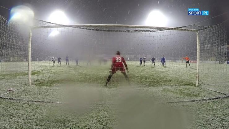 2016-11-12 Sandecja Nowy Sącz - Miedź Legnica 1:0. Najciekawsze momenty