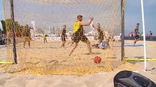 Piłka ręczna... na plaży. Nietypowe mistrzostwa Polski