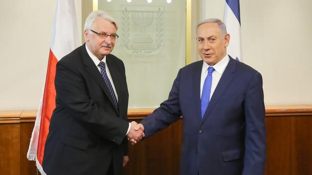 Waszczykowski z wizytą w Izraelu
