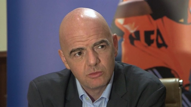 Piłkarskie MŚ: Infantino proponuje podział 48 finalistów na 16 grup