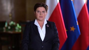 """2017-07-24 """"Nie cofniemy się z drogi naprawy państwa"""", """"weto spowolniło prace"""". Orędzie premier"""