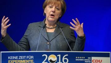 13-02-2016 19:35 Merkel prosi Niemców o cierpliwość w sprawie imigrantów