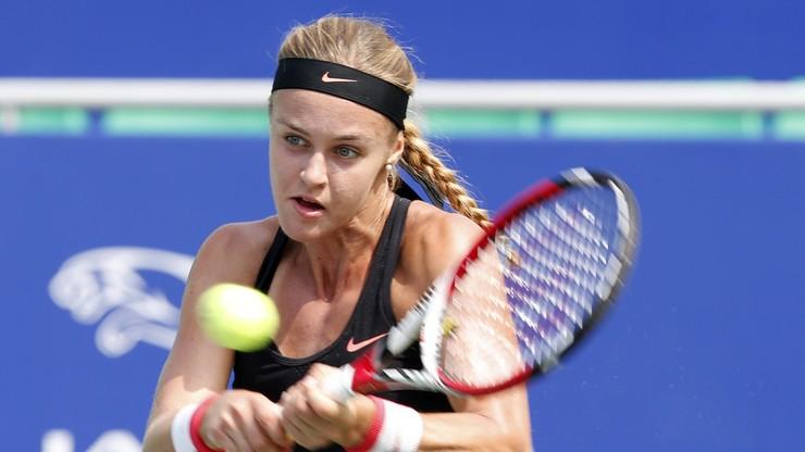 WTA Katowice Open: Broniąca tytułu Schmiedlova odpadła w 1. rundzie