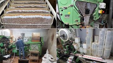 Podziemna fabryka. Milion sztuk papierosów na dobę