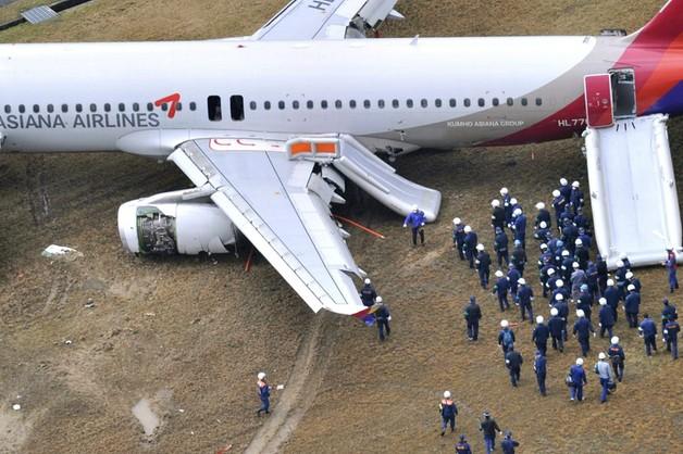 Japonia: 27 rannych po nieudanym lądowaniu samolotu