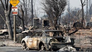 15-10-2017 06:14 Tragiczne pożary w Kalifornii. Co najmniej 40 ofiar śmiertelnych