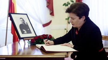 22-03-2017 12:10 Księga kondolencyjna poświęcona pamięci Młynarskiego w stołecznym ratuszu