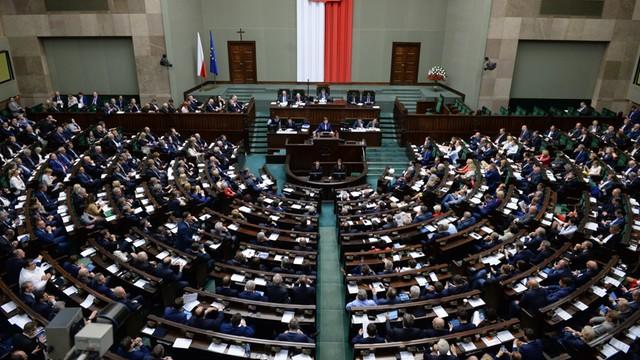 Sejm odrzucił w pierwszym czytaniu projekt PO zmian w tzw ustawie medialnej