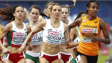 10-07-2016 18:25 Angelika Cichocka mistrzynią Europy w biegu na 1500 m