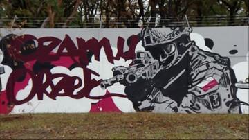1050 lat na 700 metrach. Patriotyczny mural w Legionowie
