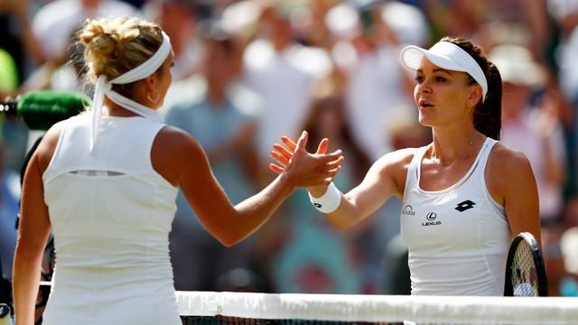 Wimbledon - Radwańska pokonała Bacsinsky w 3. rundzie