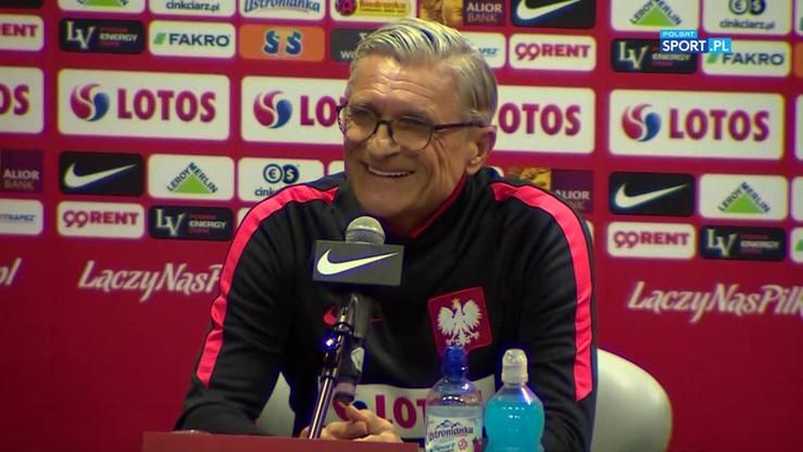 Nawałka wywołał salwę śmiechu podczas konferencji przed meczem z Czarnogórą