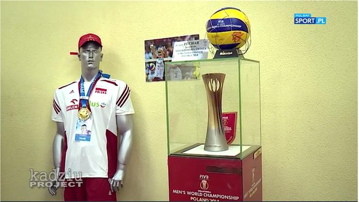 2017-01-23 Volley Bajka, czyli Kadziu Project z wizytą w... Muzeum Siatkówki