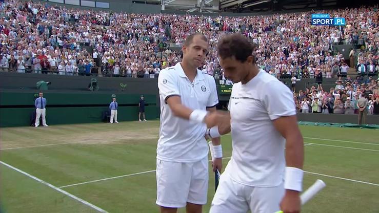 Muller i Nadal dostali owację na stojąco po ostatniej piłce