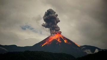 Widowiskowa erupcja