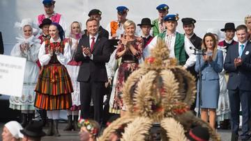 11-09-2016 15:10 Prezydent: dzięki pracy polskich rolników jesteśmy dumni z polskiej żywności